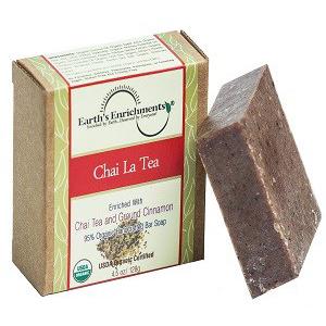 xà phòng organic trà