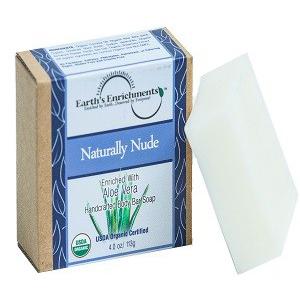 xà phòng organic hương cỏ