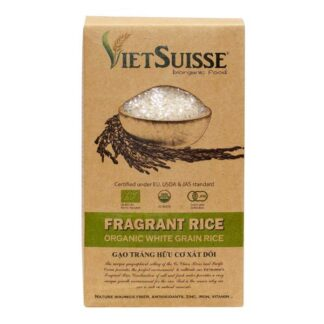 Gạo hữu cơ xát dối VietSuisse 1kg