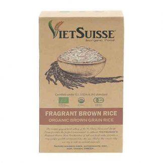 Gạo lứt hữu cơ VietSuiss