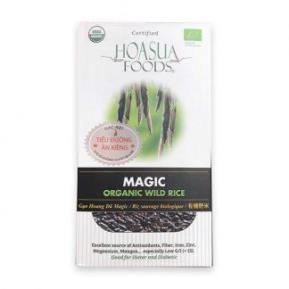 Gạo đen hoang dã hữu cơ Magic Hoa Sữa 1kg