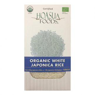 Gạo trắng hữu cơ Japonica Hoa Sữa
