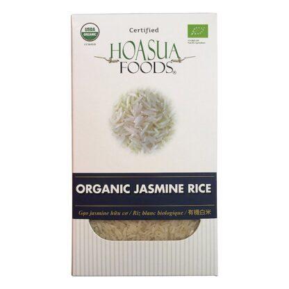 Gạo tấm trắng hữu cơ Jasmine Hoa Sữa