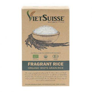 Gạo trắng hữu cơ VietSuisse