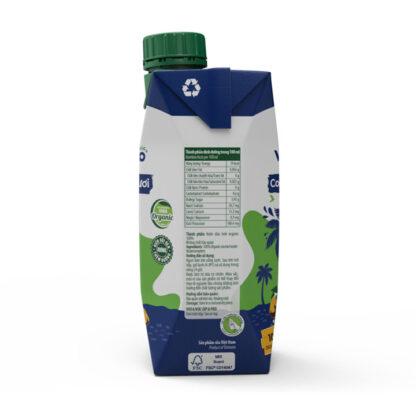 Nước dừa tươi hữu cơ VIETCOCO 330ml