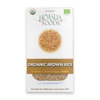 Gạo lứt hữu cơ Hoa Sữa 1kg