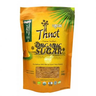 organic thnot sugar zipper bag