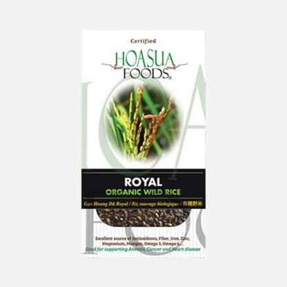 Gạo hoang dã hữu cơ Royal Hoa Sữa