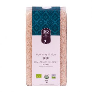 semi-milled ibis rice organic