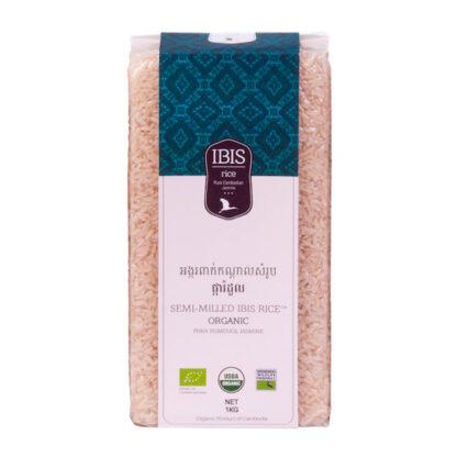 semi-milled ibis rice organic