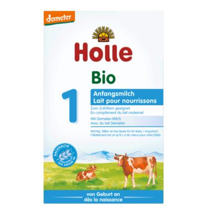 Sữa bò hữu cơ Holle 1 cho trẻ 0-6 tháng 400g
