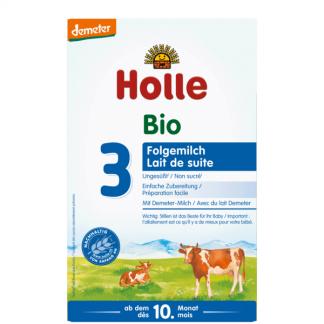 Sữa bò hữu cơ Holle 3