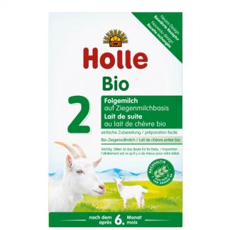 Sữa dê hữu cơ Holle 2
