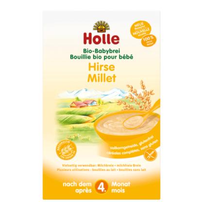 Cháo ăn dặm hạt kê hữu cơ Holle 250g