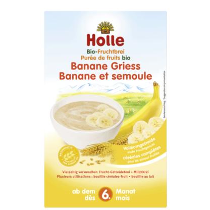 Cháo ăn dặm lúa mạch chuối hữu cơ Holle