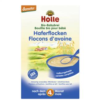 Bột ăn dặm yến mạch hữu cơ Holle