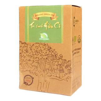 Trà xanh Shan Tuyết cổ thụ hữu cơ (loại đặc biệt) Cao Bo Organic Tea 100g