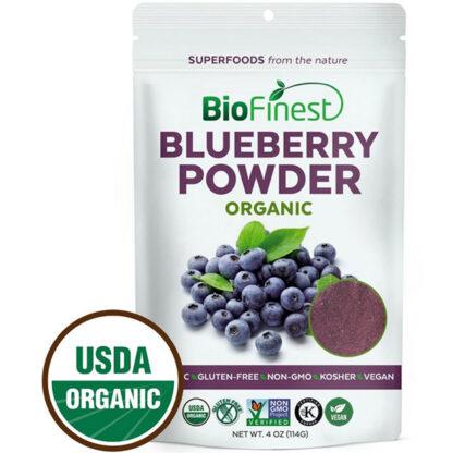 Bột việt quất (blueberry) hữu cơ BioFinest 114g
