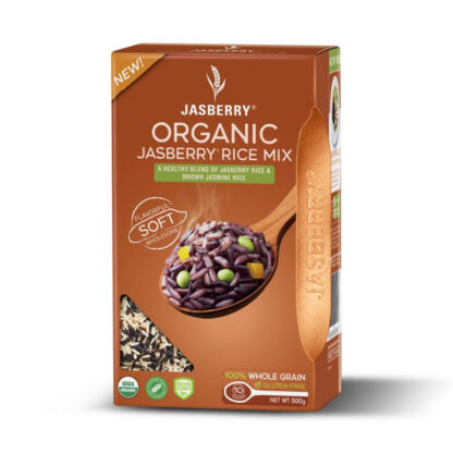 organic jasberry rice mix 500g