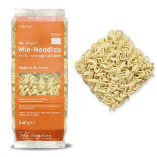Mì ăn liền hữu cơ có trứng ALB GOLD 250g