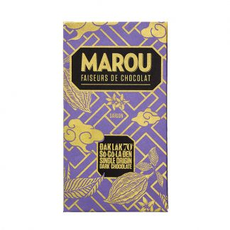 Chocolate đen 70% Marou Đắk Lắk