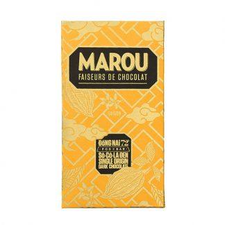 Chocolate đen 72% Marou Đồng Nai