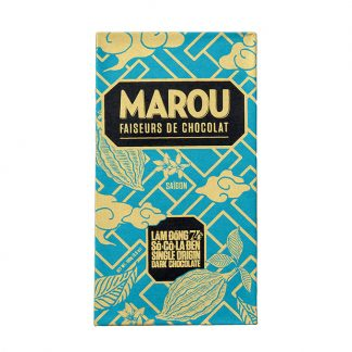 Chocolate đen 74% Marou Lâm Đồng