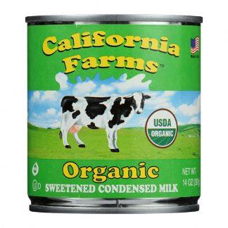 Sữa đặc hữu cơ có đường California Farms 397g