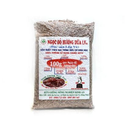 Gạo Ngọc Đỏ Hương Dứa đặc sản quý Lấp Vò