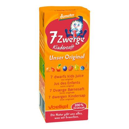 Nước ép vitamin tổng hợp hữu cơ cho bé Voelkel 200ml
