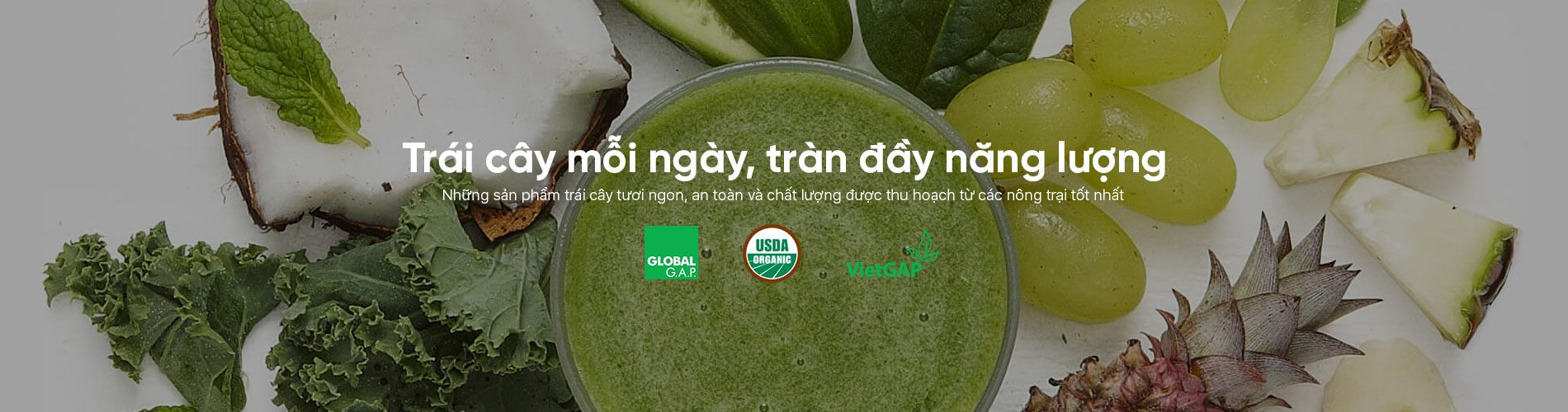trái cây tươi hữu cơ