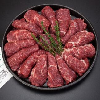 Bẹ sườn bò hữu cơ (Beef Chuck Ribs Meat) OBE Organic 500g