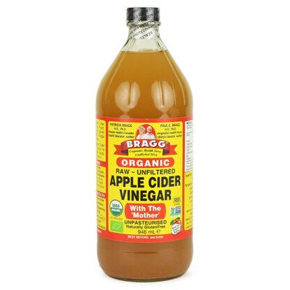 Giấm táo hữu cơ BRAGG 946ml