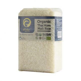 Gạo thơm hoa nhài Hom Mali hữu cơ Thái Lan