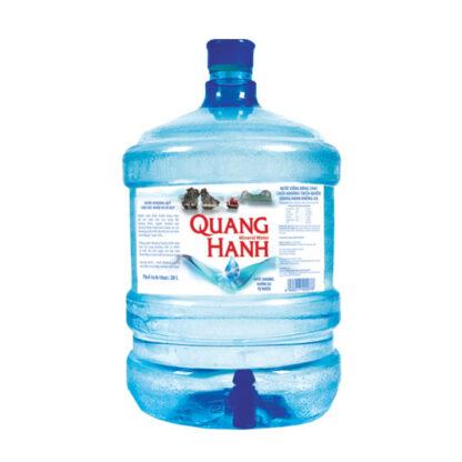 Nước khoáng thiên nhiên Quang Hanh không gas bình 19 lít