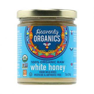 Mật ong trắng nguyên chất hữu cơ Heavenly Organics 340g