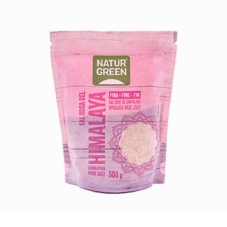 Muối hồng Himalaya NaturGreen hạt mịn 500g