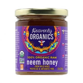 Mật ong hoa Neem nguyên chất hữu cơ Heavenly Organics 340g