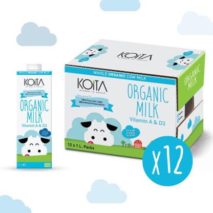 Sữa bò hữu cơ nguyên kem Koita Milk