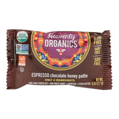Chocolate espresso mật ong Heavenly Organics