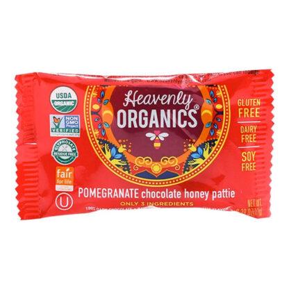 Chocolate lựu mật ong Heavenly Organics