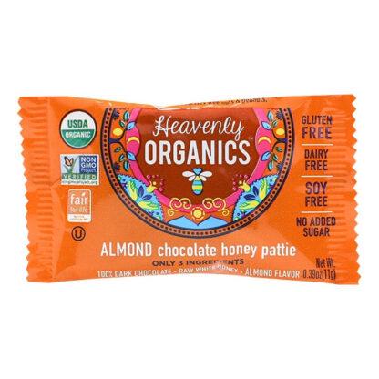 Chocolate hạnh nhân mật ong Heavenly Organics