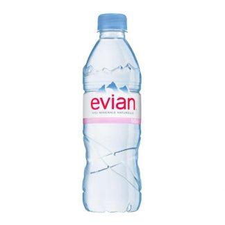 Nước khoáng thiên nhiên Evian chai 500ml
