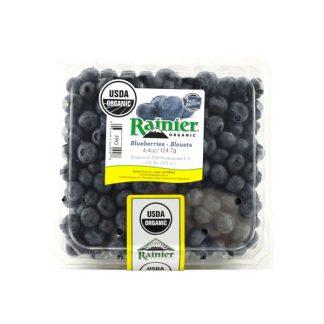 Việt quất (blueberry) hữu cơ Rainier 125g