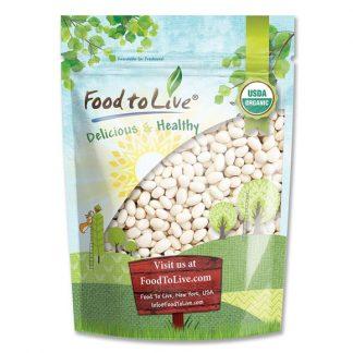 Đậu hải quân (navy beans) Food to Live 500g