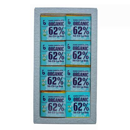 Chocolate đen hữu cơ 62% Bapula