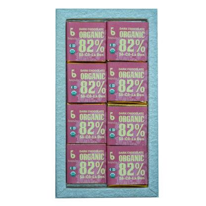 Chocolate đen hữu cơ 82% Bapula
