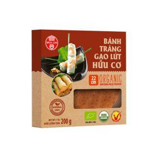 Bánh tráng gạo lứt hữu cơ Bích Chi 200g
