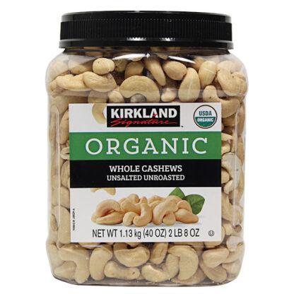 Hạt điều hữu cơ Kirkland