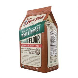Bột mì nguyên cám hữu cơ Bob's Red Mill 2,27kg